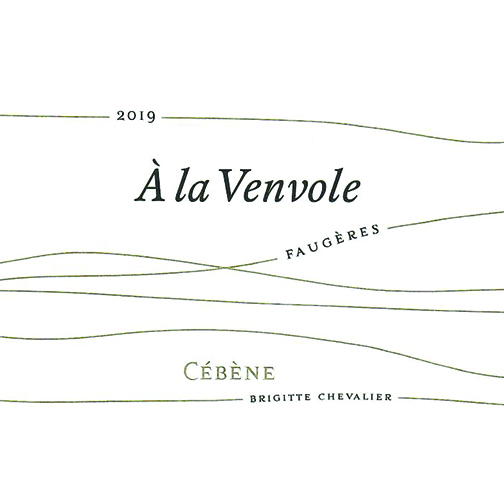 Domaine de Cébène FAUGÈRES 2019 À la Venvole