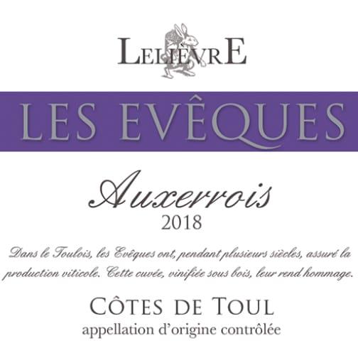 Domaine Lelièvre CÔTES DE TOUL 2018 Les Evêques