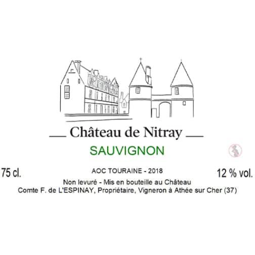 Château de Nitray TOURAINE 2018 Sauvignon