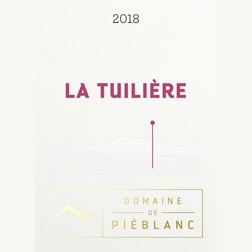Domaine de Piéblanc VENTOUX 2018 La Tuilière